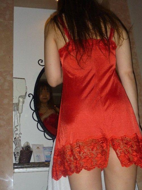 情熱的な赤い下着で濃厚なセックスへ誘う熟女・人妻のエロ画像 37枚 No.3