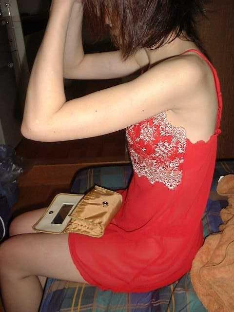 情熱的な赤い下着で濃厚なセックスへ誘う熟女・人妻のエロ画像 37枚 No.5