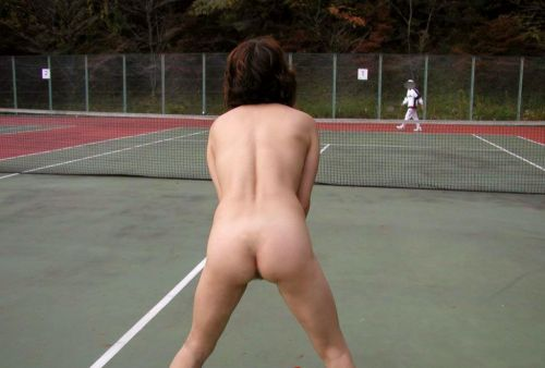 女子アスリートが引き締まった肉体で全裸スポーツしてるエロ画像! 31枚 No.6