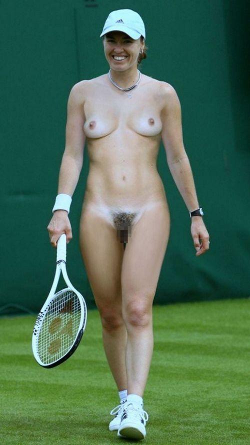 女子アスリートが引き締まった肉体で全裸スポーツしてるエロ画像! 31枚 No.9