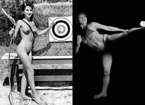 女子アスリートが引き締まった肉体で全裸スポーツしてるエロ画像! 31枚 No.26