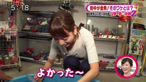 芸能人胸チラ画像!TVに映った女子アナ・タレントの上乳エロ画像 34枚 No.3