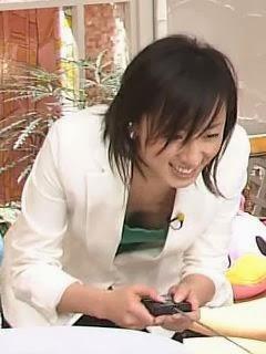 芸能人胸チラ画像!TVに映った女子アナ・タレントの上乳エロ画像 34枚 No.7