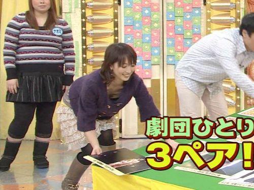 芸能人胸チラ画像!TVに映った女子アナ・タレントの上乳エロ画像 34枚 No.10