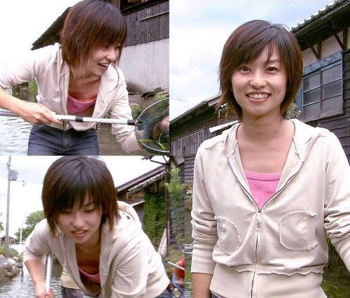 芸能人胸チラ画像!TVに映った女子アナ・タレントの上乳エロ画像 34枚 No.13