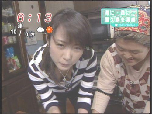 芸能人胸チラ画像!TVに映った女子アナ・タレントの上乳エロ画像 34枚 No.14