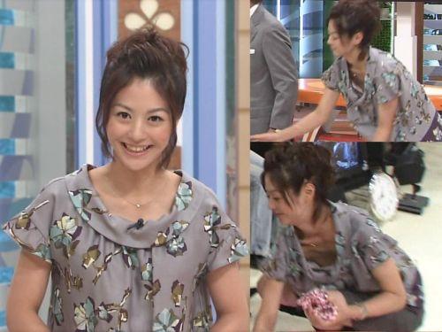 芸能人胸チラ画像!TVに映った女子アナ・タレントの上乳エロ画像 34枚 No.15