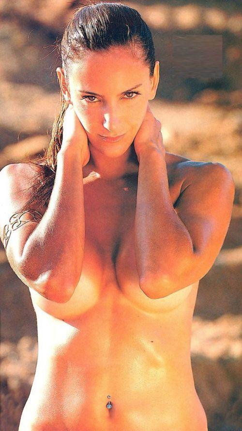 【画像】全裸でスポーツする外国人女性がグラマラスでエロ過ぎwww 37枚 No.14