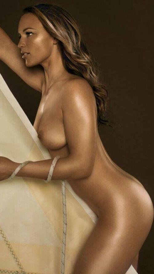 【画像】全裸でスポーツする外国人女性がグラマラスでエロ過ぎwww 37枚 No.22