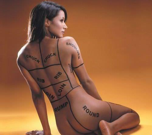 タトゥーを入れた美女達をお尻から見上げるセクシーなエロ画像 32枚 No.12