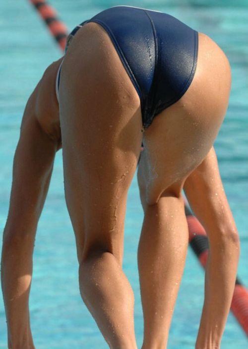 競泳水着の女子選手が飛び込む瞬間のケツと股間がエロすぎwww 32枚 No.7