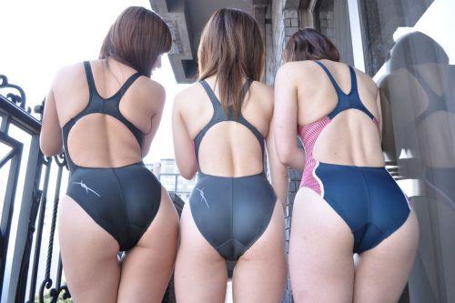 ガチ競泳女子選手の肩幅のデカさや逆三角形の脇肉にムラムラするエロ画像 33枚 No.14