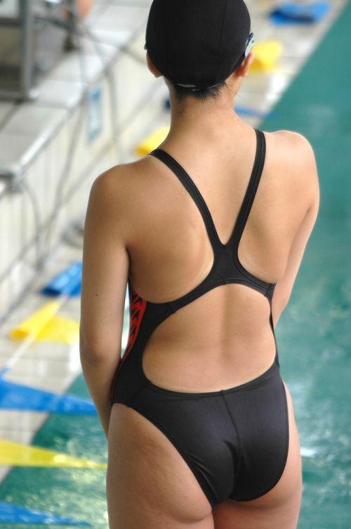 ガチ競泳女子選手の肩幅のデカさや逆三角形の脇肉にムラムラするエロ画像 33枚 No.27