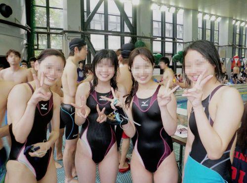 ガチ競泳女子選手の肩幅のデカさや逆三角形の脇肉にムラムラするエロ画像 33枚 No.29