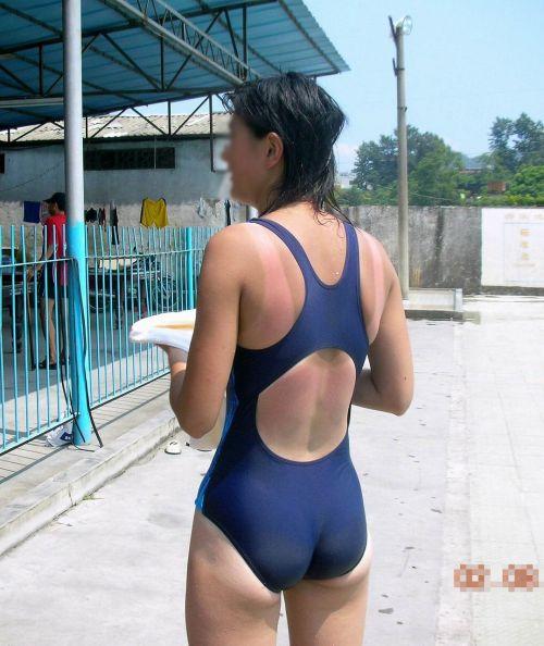 ガチ競泳女子選手の肩幅のデカさや逆三角形の脇肉にムラムラするエロ画像 33枚 No.33