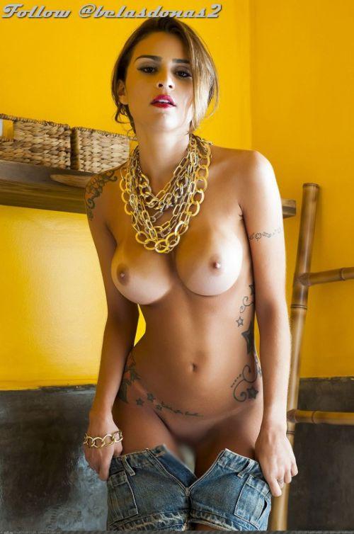 巨乳保証wwwデカパイ刺青たっぷりの外国人女性がヤバ過ぎwww 33枚 No.22