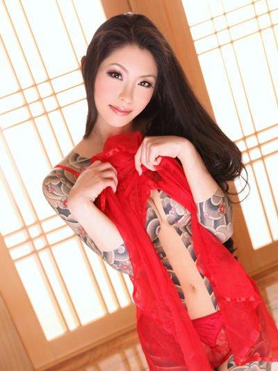 アジア系外国人のタトゥーが神秘的でセクシーなヌードエロ画像 41枚 No.10