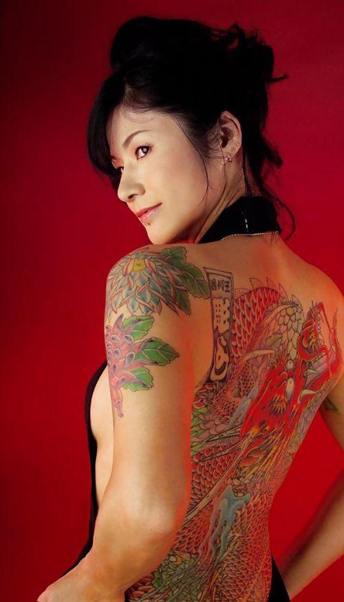 アジア系外国人のタトゥーが神秘的でセクシーなヌードエロ画像 41枚 No.13
