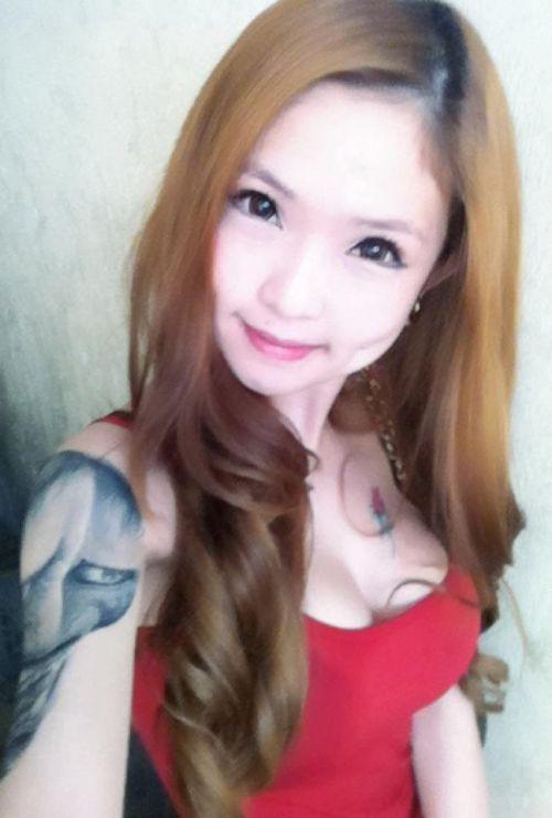 アジア系外国人のタトゥーが神秘的でセクシーなヌードエロ画像 41枚 No.16