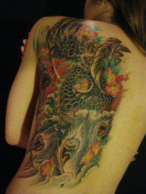 アジア系外国人のタトゥーが神秘的でセクシーなヌードエロ画像 41枚 No.29
