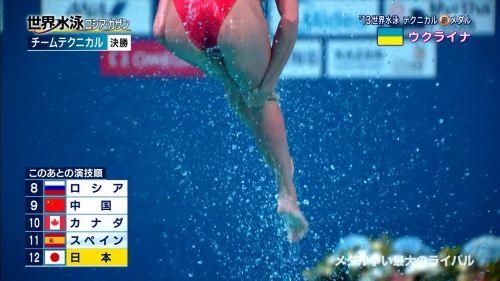 女子シンクロという股間のワレメを主張していくスタイルのエロ競技www 38枚 No.6