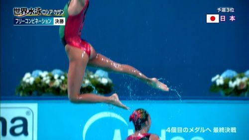 女子シンクロという股間のワレメを主張していくスタイルのエロ競技www 38枚 No.22