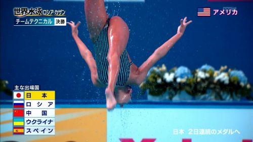 女子シンクロという股間のワレメを主張していくスタイルのエロ競技www 38枚 No.36