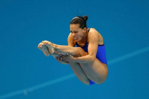 【画像】高飛び込み女子選手の引き締まった太ももと股間が卑猥過ぎるwww 37枚 No.3
