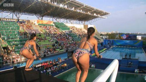 【画像】高飛び込み女子選手の引き締まった太ももと股間が卑猥過ぎるwww 37枚 No.9