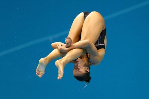 【画像】高飛び込み女子選手の引き締まった太ももと股間が卑猥過ぎるwww 37枚 No.10