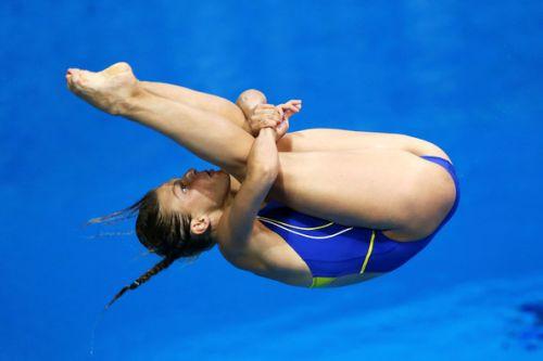 【画像】高飛び込み女子選手の引き締まった太ももと股間が卑猥過ぎるwww 37枚 No.12