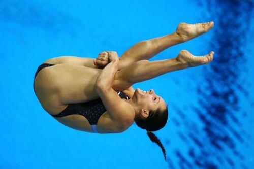 【画像】高飛び込み女子選手の引き締まった太ももと股間が卑猥過ぎるwww 37枚 No.14