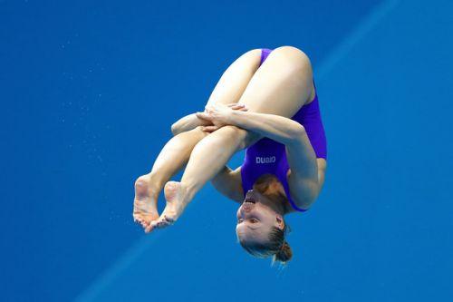 【画像】高飛び込み女子選手の引き締まった太ももと股間が卑猥過ぎるwww 37枚 No.18