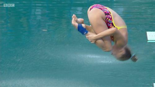 【画像】高飛び込み女子選手の引き締まった太ももと股間が卑猥過ぎるwww 37枚 No.19