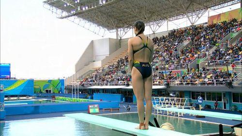 【画像】高飛び込み女子選手の引き締まった太ももと股間が卑猥過ぎるwww 37枚 No.21