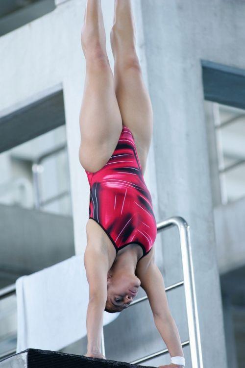【画像】高飛び込み女子選手の引き締まった太ももと股間が卑猥過ぎるwww 37枚 No.29