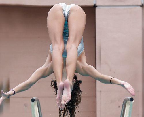 【画像】高飛び込み女子選手の引き締まった太ももと股間が卑猥過ぎるwww 37枚 No.30