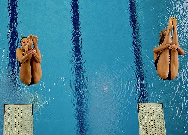 (写真)高飛び込み女子選手の引き締まった太ももと股間がエロ過ぎるwwwwww 37枚