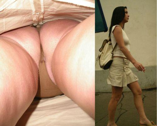 【画像】Tバックを履いてお尻丸出しな外国人女性の逆さ撮りパンチラwww 31枚 No.20