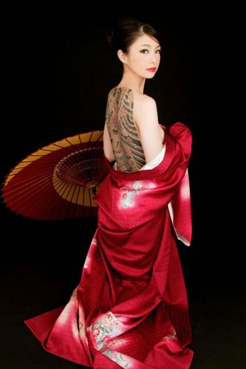 極道の妻達の覚悟がハンパない全身刺青(タトゥー)のエロ画像 33枚 No.6