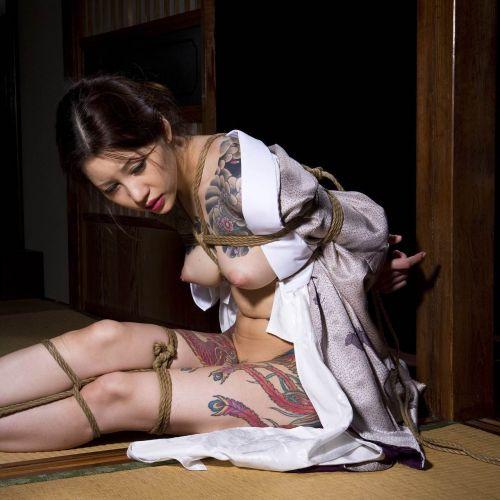 極道の妻達の覚悟がハンパない全身刺青(タトゥー)のエロ画像 33枚 No.8