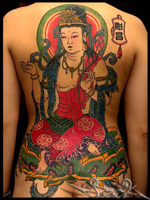極道の妻達の覚悟がハンパない全身刺青(タトゥー)のエロ画像 33枚 No.10