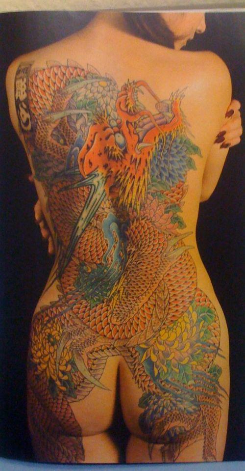 極道の妻達の覚悟がハンパない全身刺青(タトゥー)のエロ画像 33枚 No.17