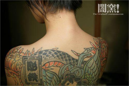 極道の妻達の覚悟がハンパない全身刺青(タトゥー)のエロ画像 33枚 No.21