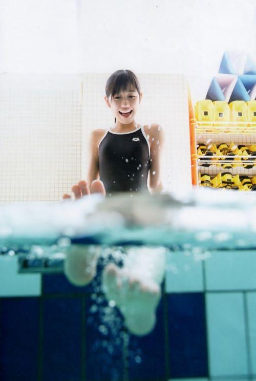 【画像】芸能人アイドルの競泳水着がハイレグで意外と際どいんだがwww 35枚 No.31