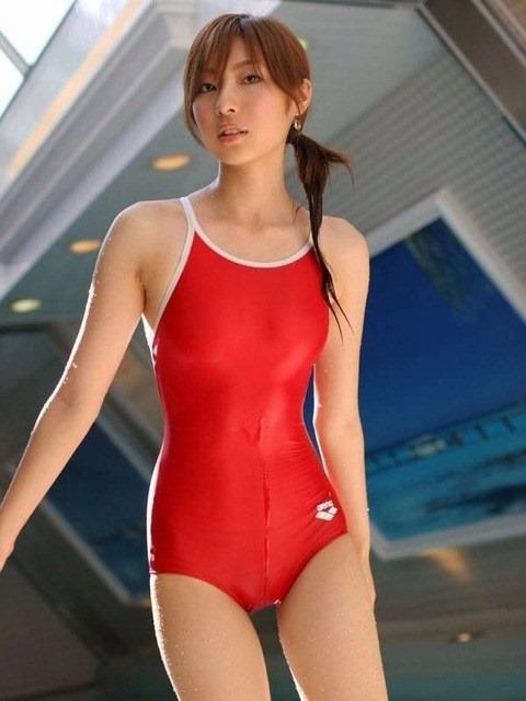 競泳水着を着た可愛い美少女のハイレグ股間の画像まとめたったwww 37枚 No.7
