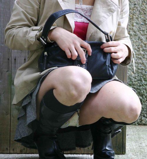 生理中と一瞬で分かる羽根つきナプキンを付けた月経女子のエロ画像 33枚 No.29