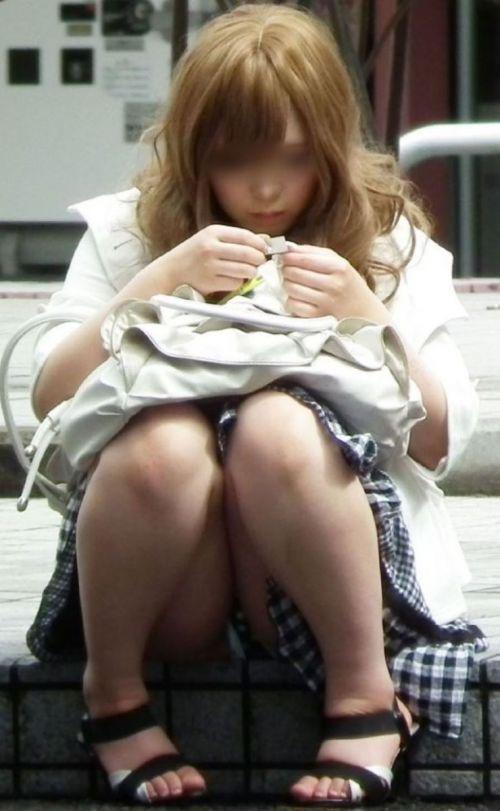 生理中と一瞬で分かる羽根つきナプキンを付けた月経女子のエロ画像 33枚 No.30