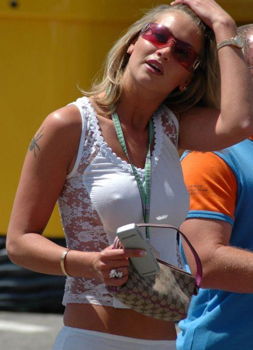 【エロ画像】海外では乳首ポチや乳輪見えて当たり前とか最高だなwww 34枚 No.24