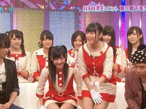 【TVキャプチャ】芸能人・女子アナのデルタゾーンパンチラエロ画像 32枚 No.1